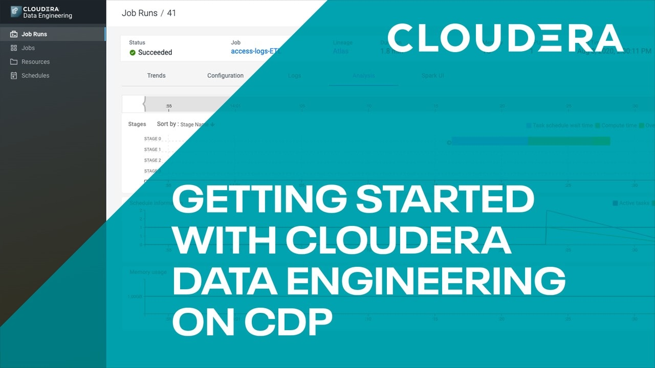 Getting started with Cloudera data engineering on CDP