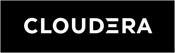 Cloudera Logo on black